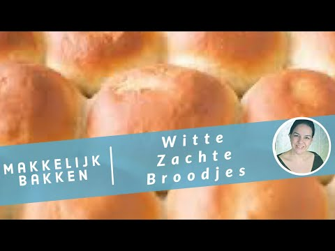 Witte zachte broodjes