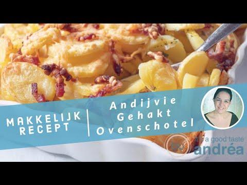 Een recept voor een Andijvie gehakt ovenschotel