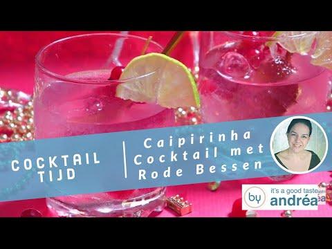 Hoe maak je een Caipirinha cocktail (met rode bessen)