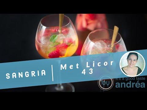 Sangria Blanca met Licor 43