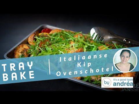 Tray Bake Italiaanse Kip Ovenschotel