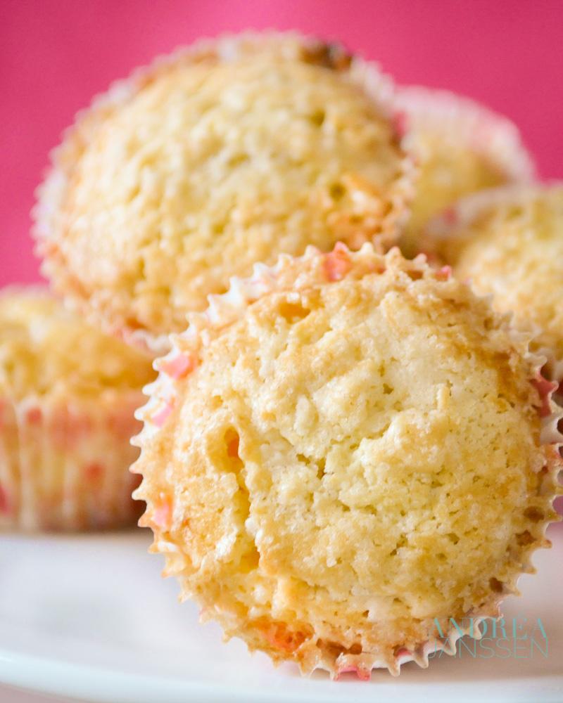 Muffins met parelsuiker