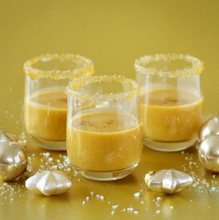 Hollandse spicy egg-nog