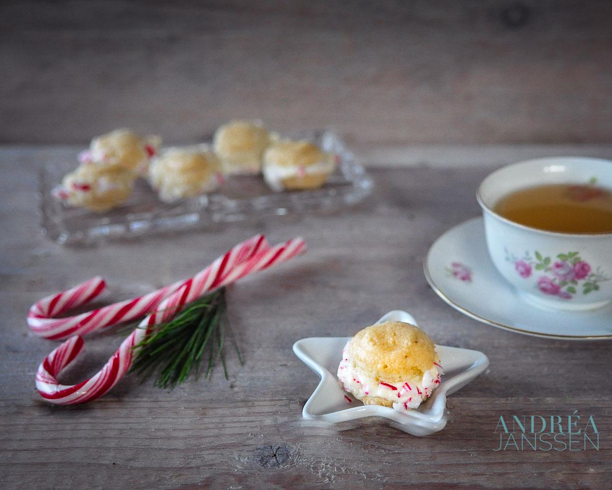 Macaron kerstkoekjes