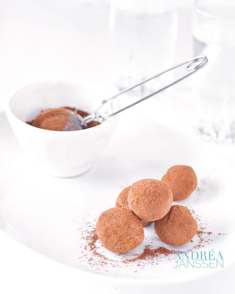 Chocolade sinaasappel truffels
