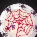 Pin Halloween spinnentaart