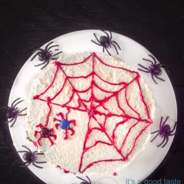 Spinnentaart Halloween