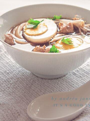Ramen Noodle soep
