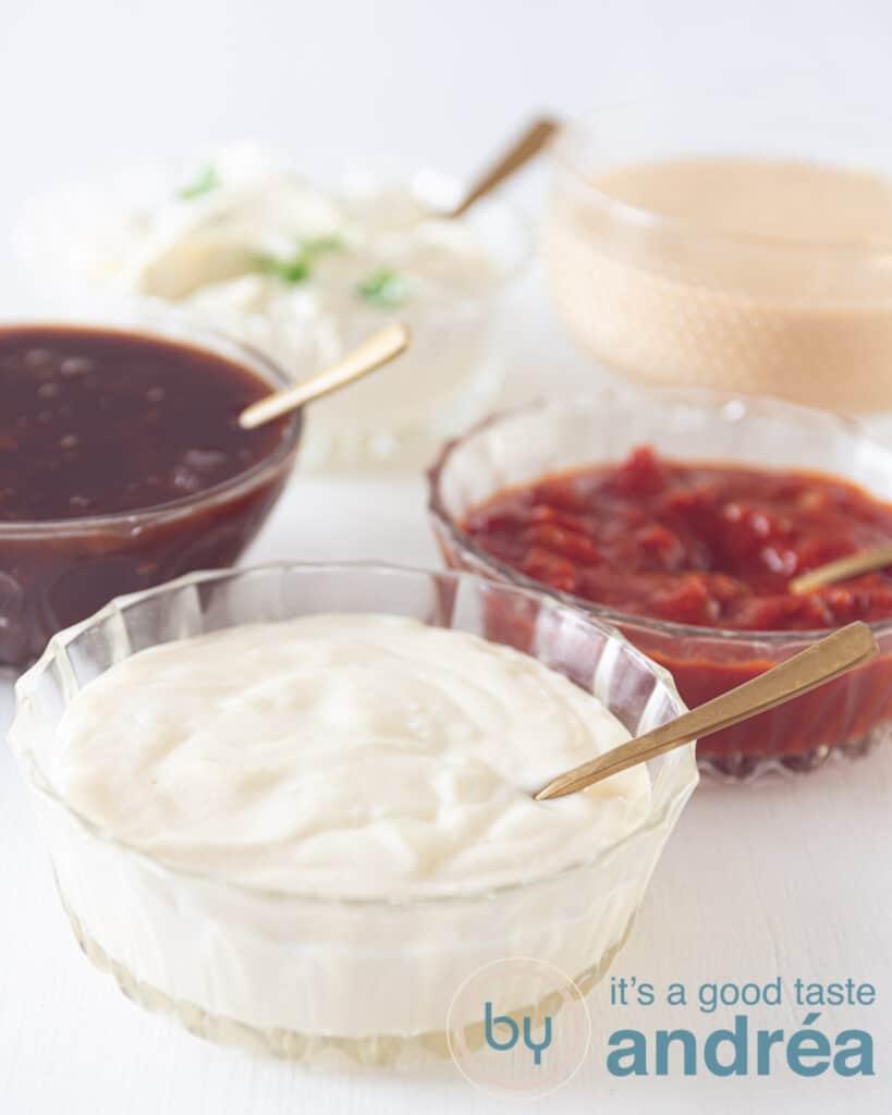 Gourmet recept 5 sausjes