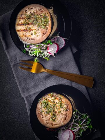 Gourmet recept aubergine met mozzarella