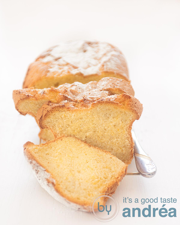 basilicum olijfolie cake