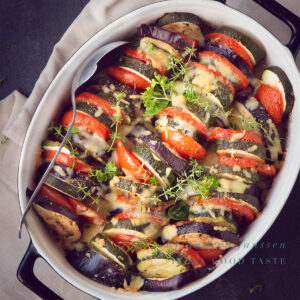 highlight Oven roasted vegetables recipe