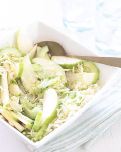 frisgroene lente salade