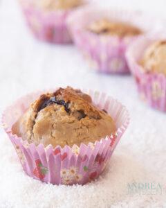 Glutenvrije muffins met Chocola en kokos