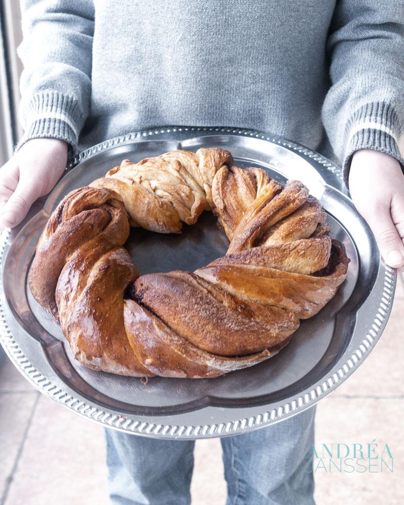kaneel brood krans