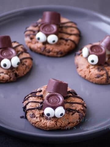 uitgelicht Spinnen koekjes voor Halloween