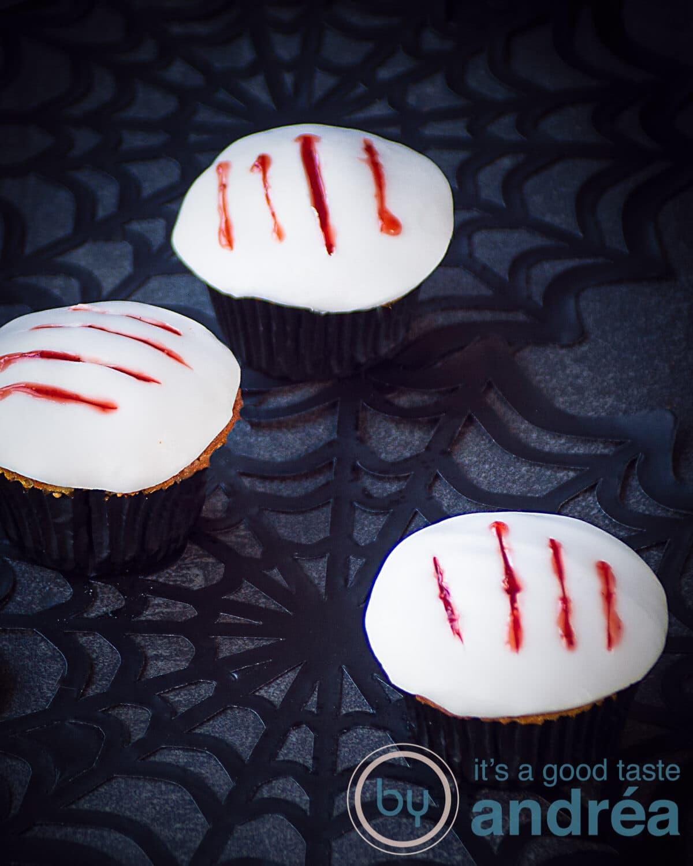 Klauw cupcakes