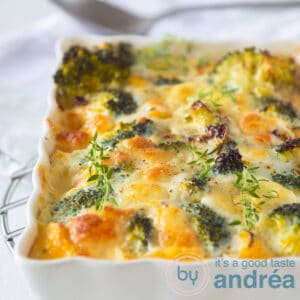 highlight Broccoli frittata with Mozzarella