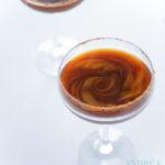 Golden espresso martini