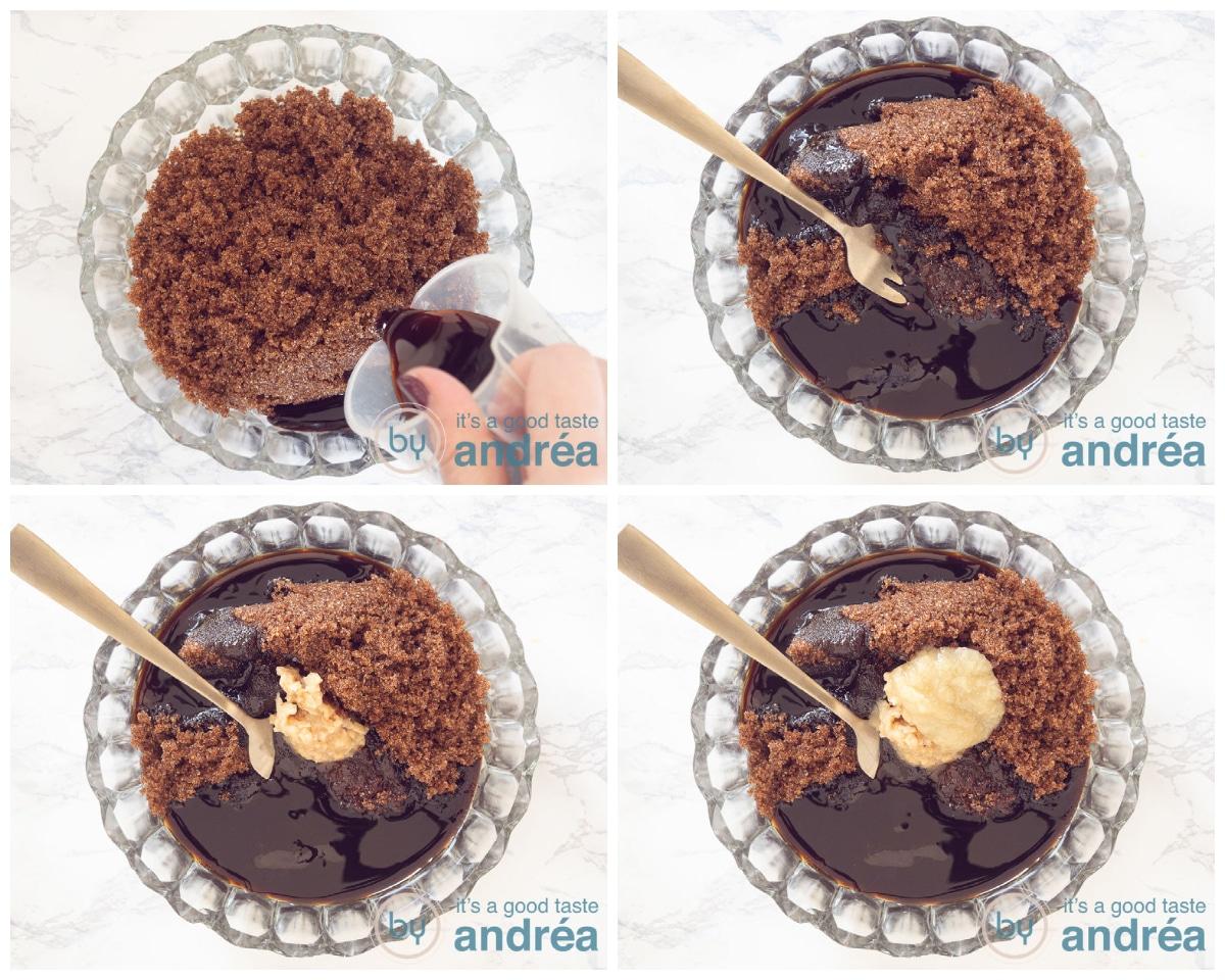 Maak de ketjap marinade in vier stappen