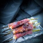 Gegrilde asperges prosciutto boursin