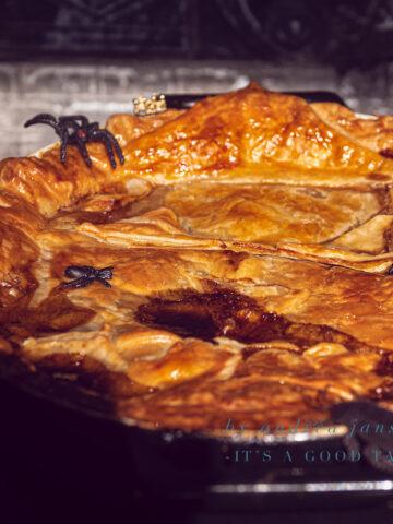 uitgelicht Halloween recept: Guinness en steak pie