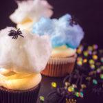 pin Spinnen cupcakes met mascarpone frosting en suikerspin