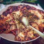 Verse worst en boerenkool lasagne