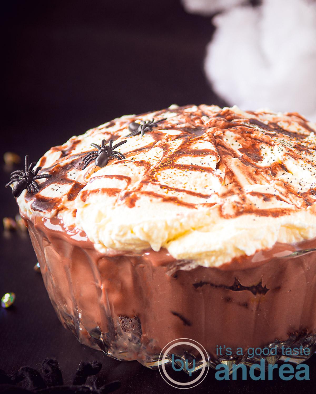 Makkelijke Halloween Oreo trifle recept