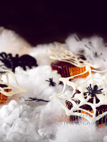 uitgelicht Halloween recept Nutella cupcakes met chocolade