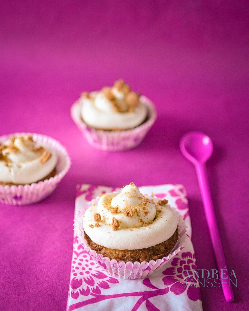 Pepernoten cupcakes