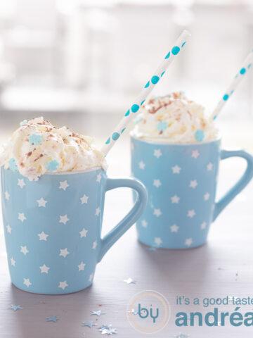 warme chocolademelk met baileys - hot chocolate with baileys