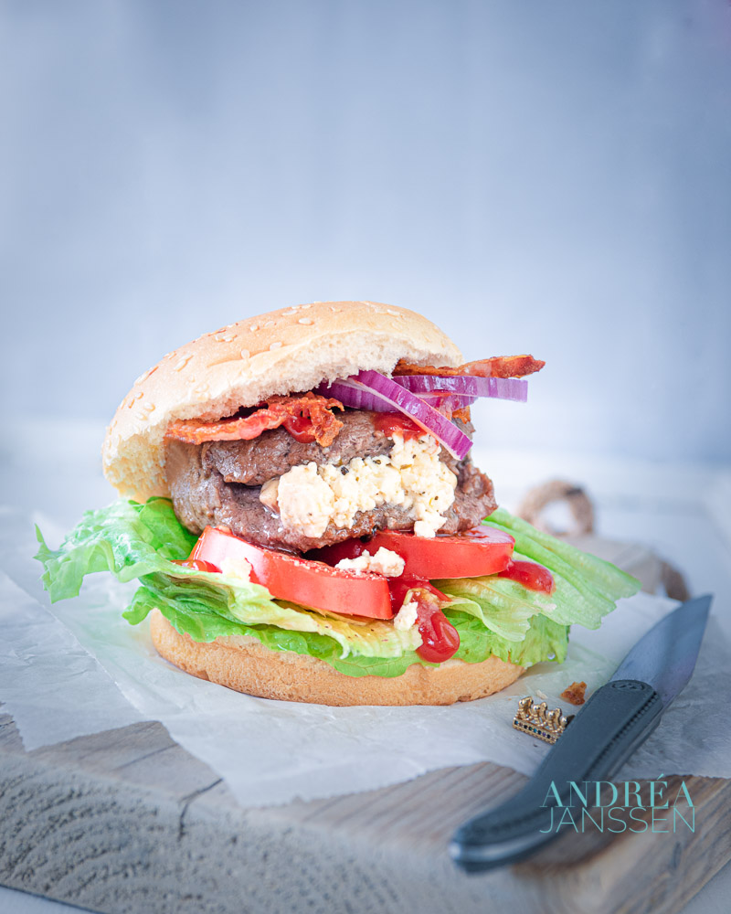 broodje hamburger de luxe
