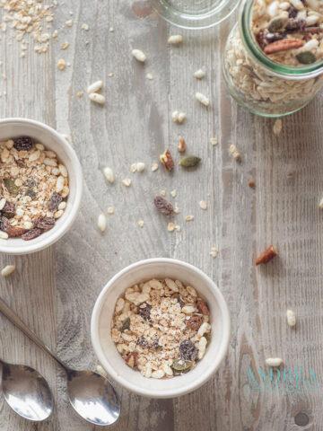 Gezonde en slanke muesli - healthy and skinny muesli