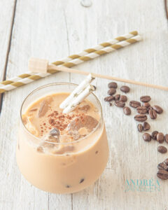 IJskoffie, fris, lekker en romig - Ice coffee, refreshing, delicious and creamy