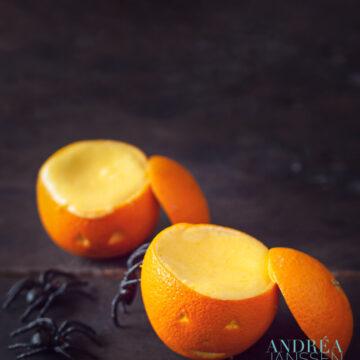 Halloween sinaasappel bavarois
