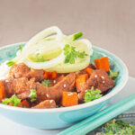 Slow cooker Mongools rundvlees - Slow cooker Mongolian beef