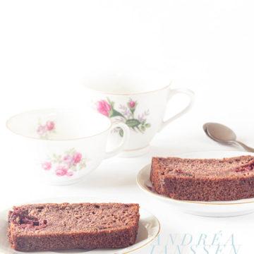 frambozen chocolade cake