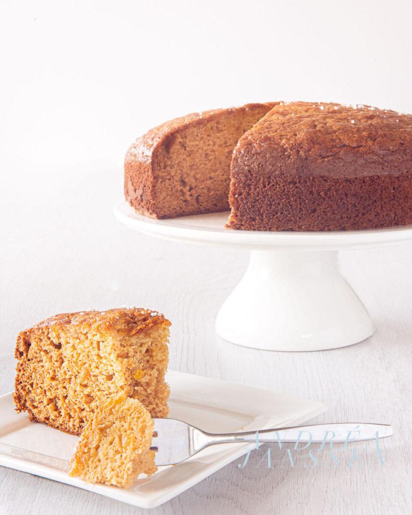 sinaasappel cake met olijfolie