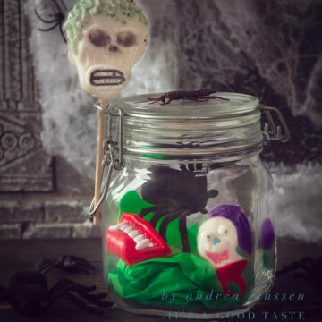Halloween gift in a jar