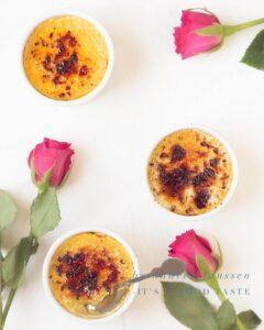 Limoncello crème brûlée