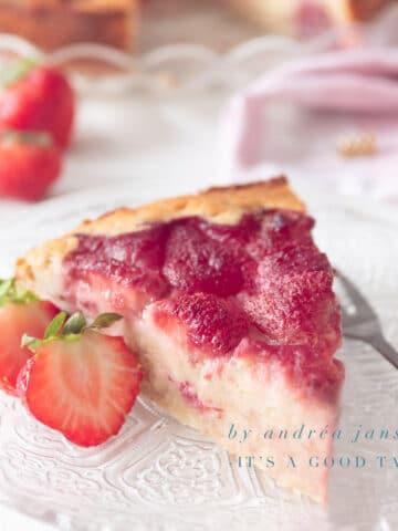 highlight Aardbeien cake met ricotta